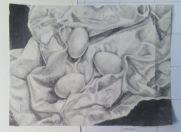Still life, graphite, 2014.